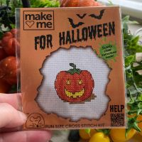 Fun Cross Stitch Kit ~ Pumpkin ~SALE