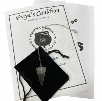 A Pendulum Starter Kit Incl Quartz Pendulum and Instructions