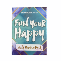 Find Your Happy! Daily Mantra Deck