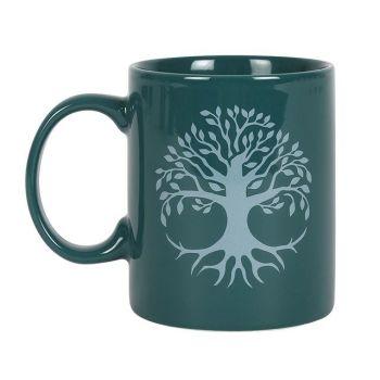 Tree of Life Green Mug
