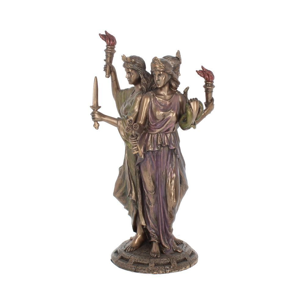 Hecate Goddess of Magic Triple Goddess Figurine