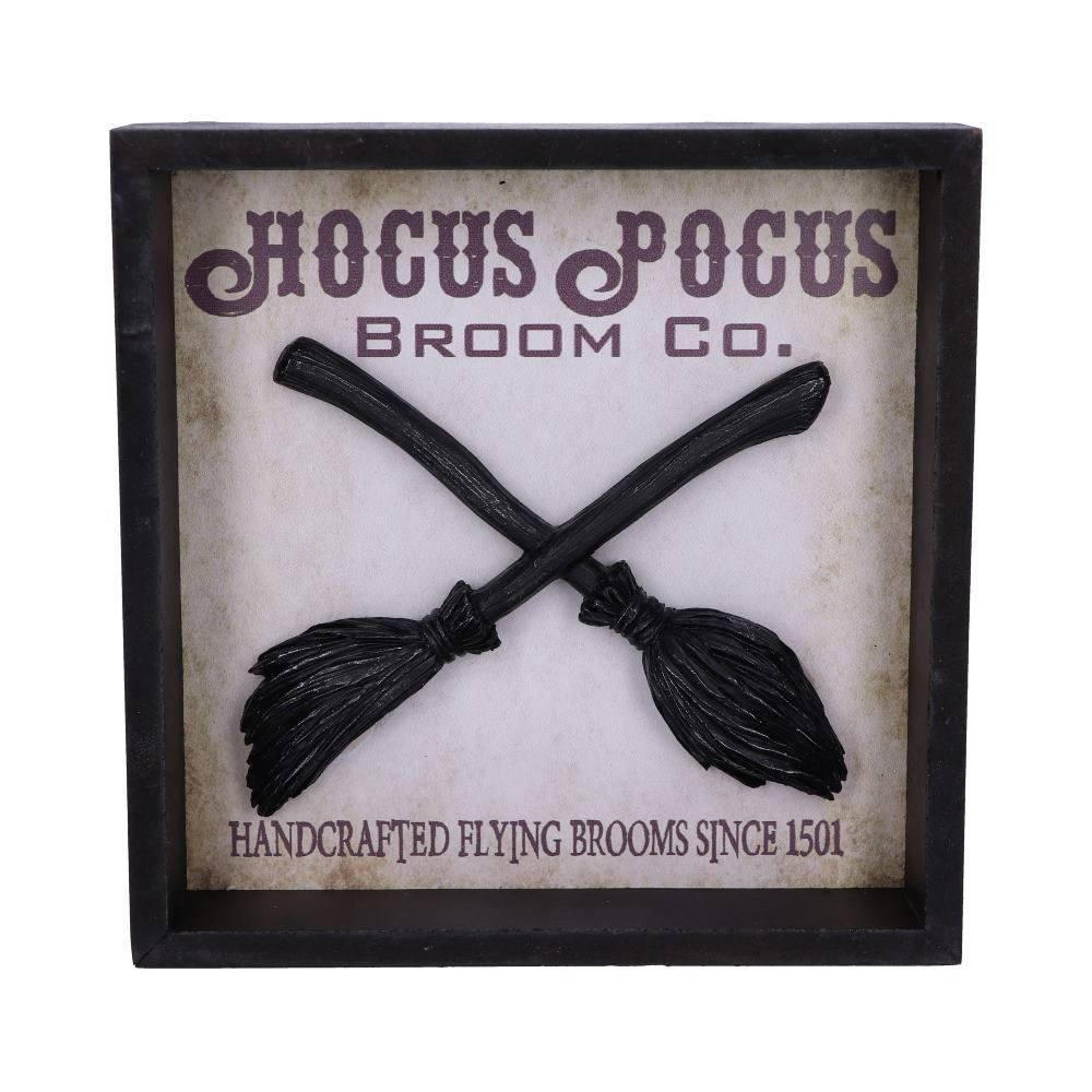Hocus Pocus Broom Co Wall Mounted Picture