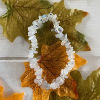 Rainbow Moonstone Crystal Chip Bracelet ~ Sale