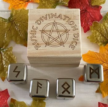 Witches Runic Divination Dice Set