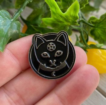 Enamel Pin Badge ~ CAT