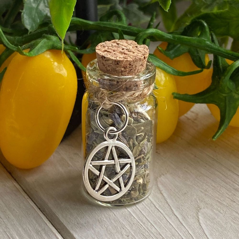 Witches Blessing Vial