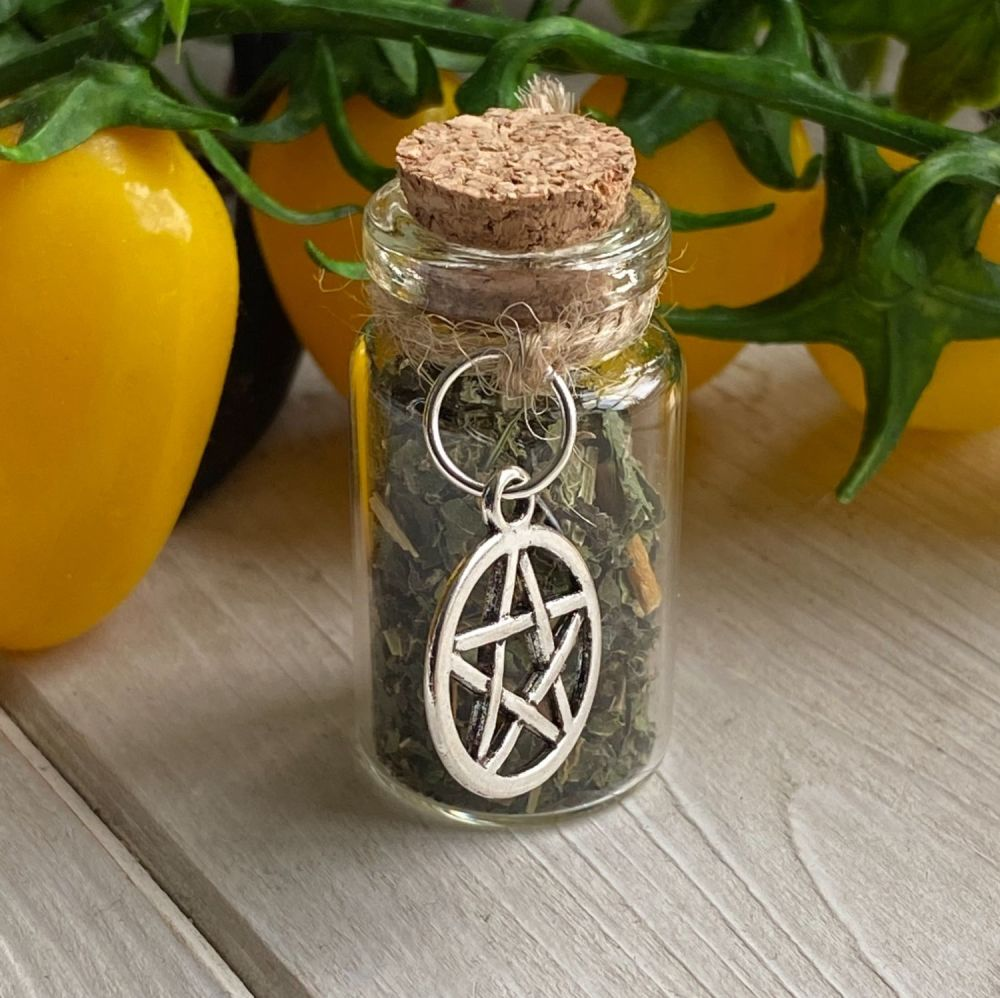 Witches Wealth and Money Vial