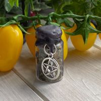 Hand Crafted Mini Spell Jar ~ Banish Negativity