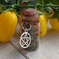 Custom Hand Crafted Mini Spell Jar ~ Business Success