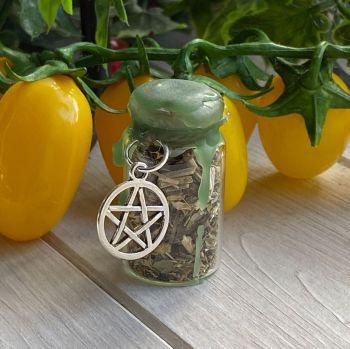 Hand Crafted Mini Spell Jar ~ Healing