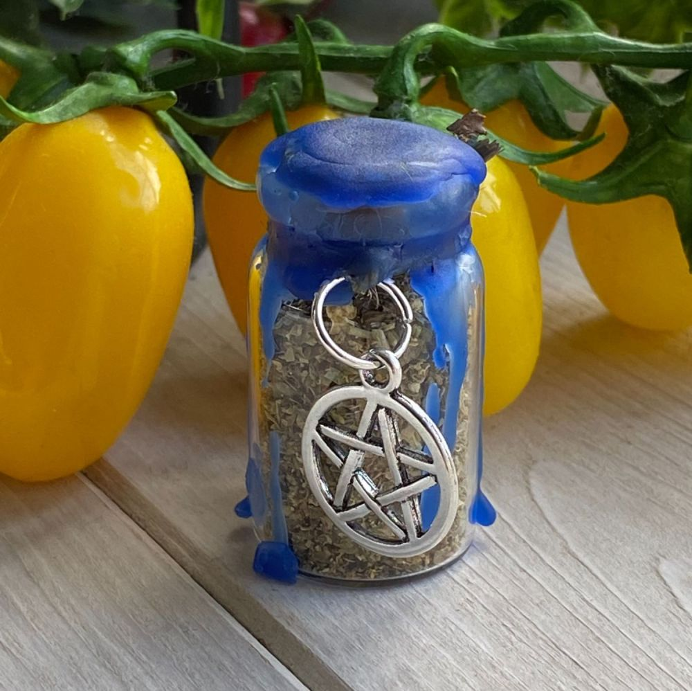 Hand Crafted Mini Spell Jar ~ Peace and Harmony