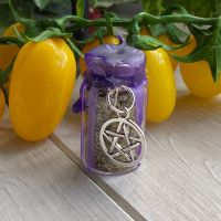 Custom Hand Crafted Mini Spell Jar ~ Protection