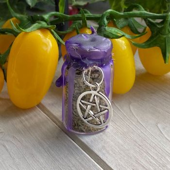 Hand Crafted Mini Spell Jar ~ Protection