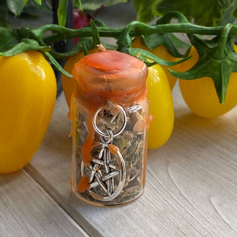 Hand Crafted Mini Spell Jar ~ Road Opener