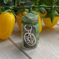 Custom Hand Crafted Mini Spell Jar ~ Wealth