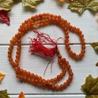 Mala Beads ~ Carnelian