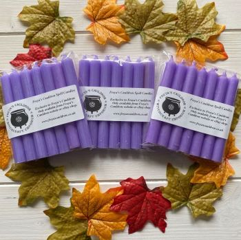 21 Lilac 10 cm Spell Candles