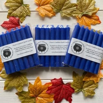 21 Royal Blue 10 cm Spell Candles