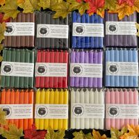 84 Witches Spell Candles ~ 12 Packs of 7 Including Candle Colour Information Sheet