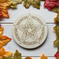 Celtic Pentagram Altar Tile