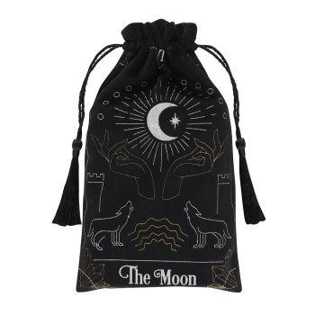Moon Tarot Card Drawstring Pouch