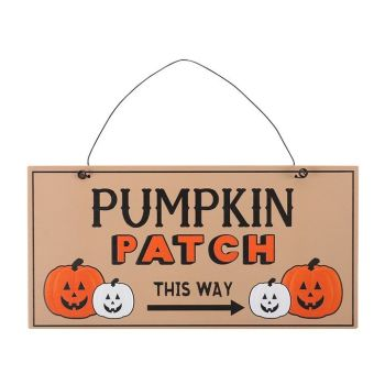 Pumpkin Patch Hanging Sign