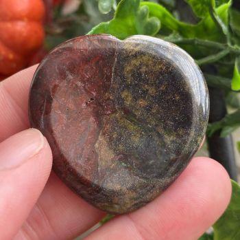 Dragon Stone Heart Thumb Stone #7