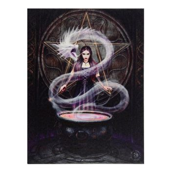 The Summoning Canvas Wall Picture by Anne Stokes