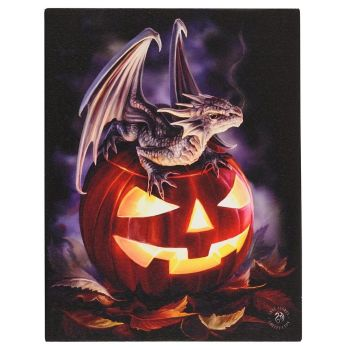 Trick or Treat Canvas Wall Picture by Anne Stokes