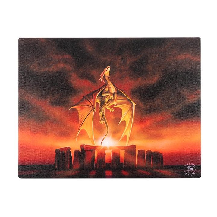 The Solstice Canvas Wall Picture by Anne Stokes