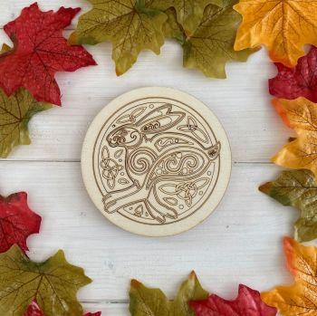 Celtic Hare Altar Tile