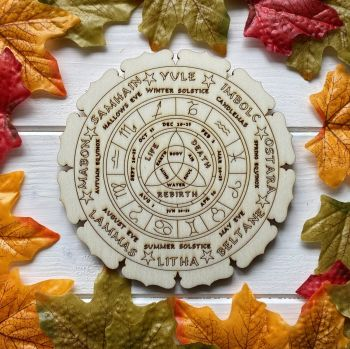 Wheel of the Year Altar Tile