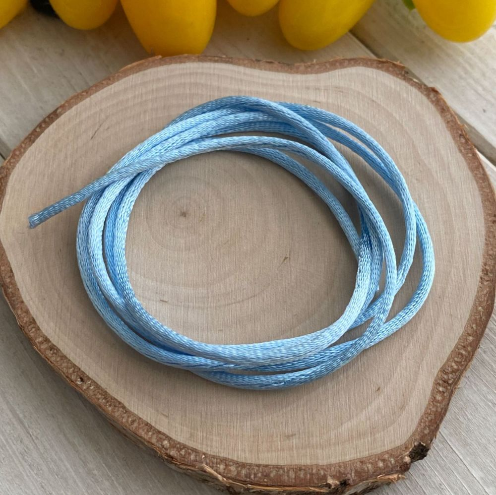 3m piece of Silky Baby Blue Cord