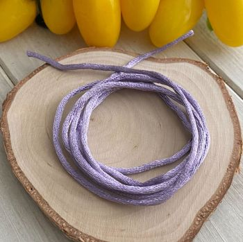 3m piece of Silky Lilac Cord