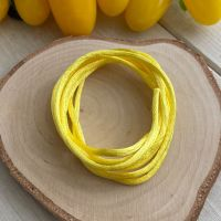 3m piece of Silky Yellow Cord