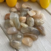 *** Moonstone ~ Small ~ Pack of 10 stones