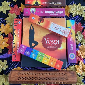 ** Incense Stick Box and Yoga Incense Stick Gift Pack