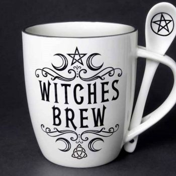Alchemy Witches Brew Mug and Spoon
