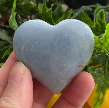 Angelite Heart ~ #2