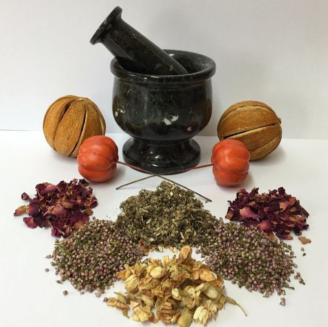 Herbs, Roots and Resins