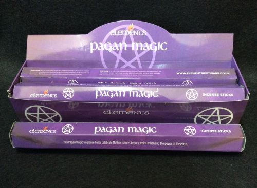 Pagan Magic Incense Sticks ~ Pack of 20