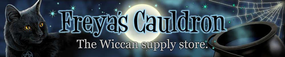 Freya's Cauldron, site logo.