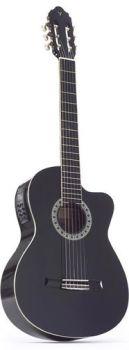 Valencia guitar 4/4 cutaway,electro-acoustic