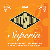 RotoSound Superia nylon string traditional tie-on set WITH FREE POSTAGE