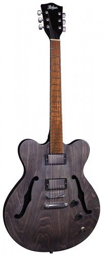 """Based on the original classic Hofner Verythin guitar body shape from 1960 with the body depth of only 1.25 inches. The Hofner Verythin was extremely popular with groups during the 1960s beat boom era.  The Hofner Verythin not only captures that unique 60s sound but also has the ability to produce tones ranging from deep gutsy blues through to cutting distorted rock. Fitted with a centre spruce block in the body to produce more sustain, deeper tones and less feedback you''ll find this Hofner Verythin is a guitar that delivers full on style, tone and playability.  Satin Mahogany Finish • Flame Maple Back & Sides • Spruce Centerblock • Three Way Switch • Hofner Traditional Set Neck • 24.7""""/628mm Scale • 44mm Nut • 22 Frets • 2x Hofner Humbucker Pickups • Three Way Switch • Volume Control • Tone Control.  DETAILED SPECIFICATIONManufacturerHofnerBarcode4250358617313Master Carton4Finish TypeMattGuitar StyleElectric-Semi AcousticRight / Left HandedRighthandedTop WoodMahogany"""
