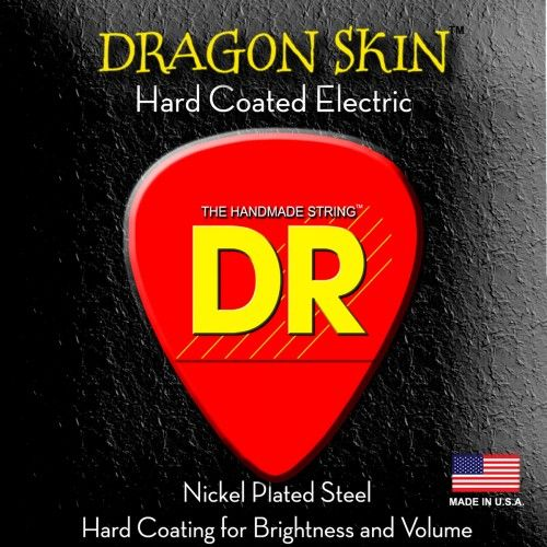 DR STRINGS DRAGON SKIN ELECTRIC LIGHTDSE9  with FREE POSTAGE!