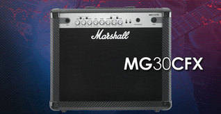 Marshall Amplifier: MG102CFX
