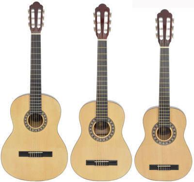 Half size guitar
