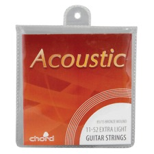 Chord acoustic guitar strings with FREE POSTAGE!