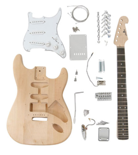 Self-build Guitar Kit